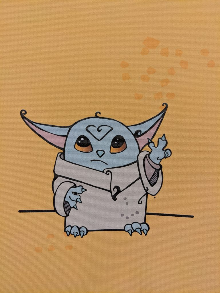 Baby Yoda by Aurora Whittet Best
