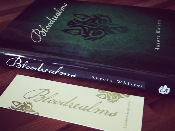 Bloodrealms by Aurora Whittet Best Cover design